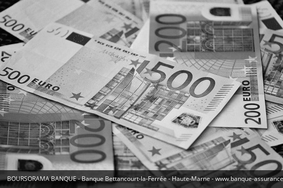 Banque Bettancourt-la-Ferrée Boursorama Banque