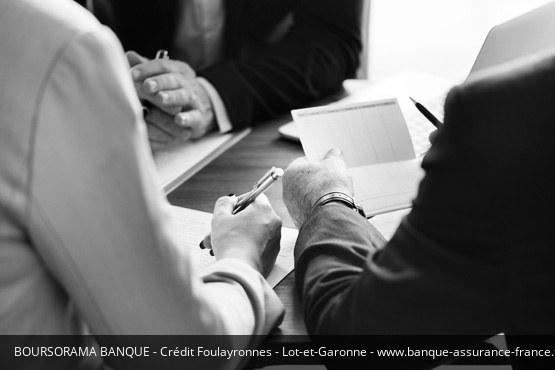 Crédit Foulayronnes Boursorama Banque