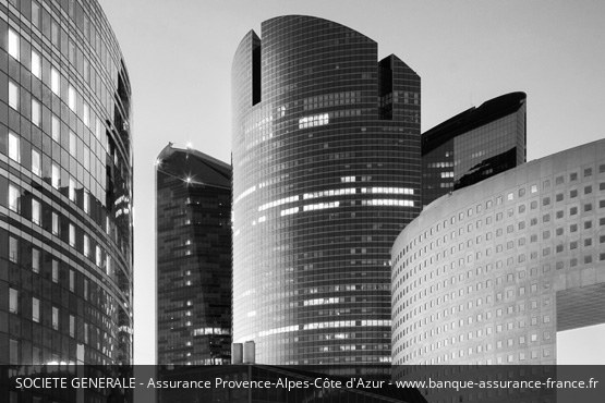 Assurance Provence-Alpes-Côte d'Azur Société Générale