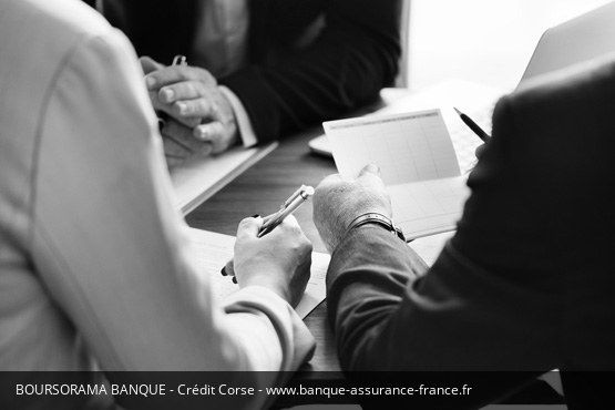 Crédit Corse Boursorama Banque