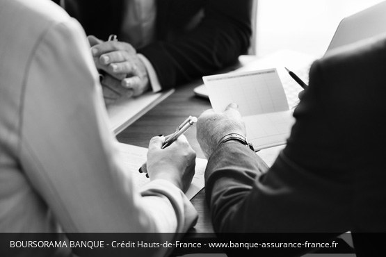 Crédit Hauts-de-France Boursorama Banque